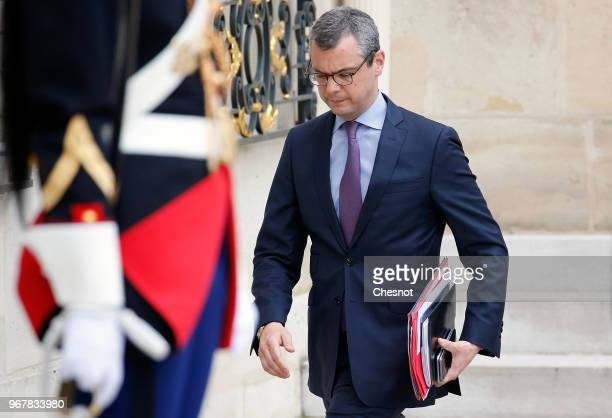 Elysee palace general secretary Alexis Kohler is seen in the courtyard of the Elysee on June 5 2018 in Paris France Alexis Kohler the right arm of...