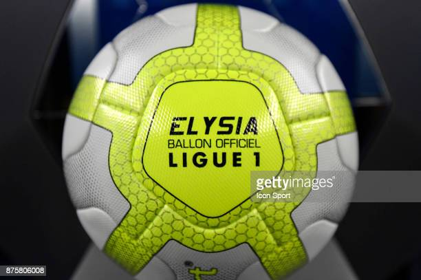 Elysia Ball of Ligue 1 before the Ligue 1 match between Strasbourg and Rennes at Stade de la Meinau on November 18 2017 in Strasbourg