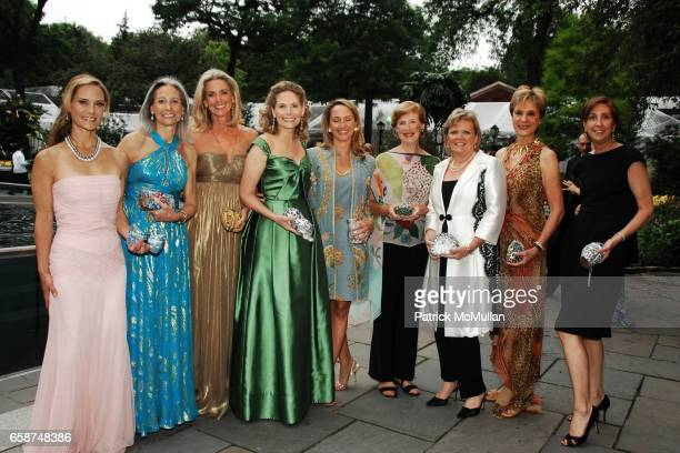 Elyssa Kellerman Alison Morrow Ann Unterberg Allison Stern Stephanie Clark Virginia Schwerin Mary Gleason Cynthia Friedman and Pat Beh Werblin attend...