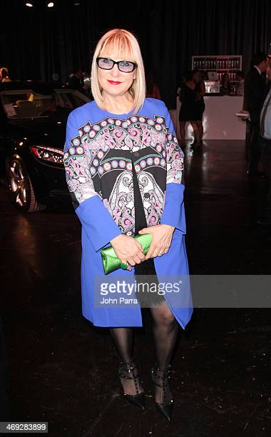 Elysze Held attends the Designed For A Cure 2014 Benefiting Sylvester Comprehensive Cancer Center on February 13 2014 in Miami Florida
