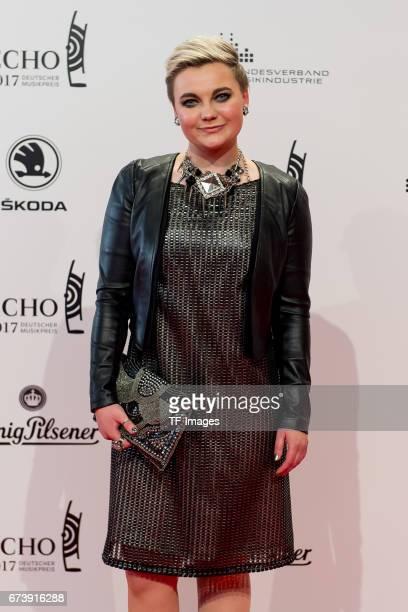 Elzbieta Steinmetz Elaiza on the red carpet during the ECHO German Music Award in Berlin Germany on April 06 2017