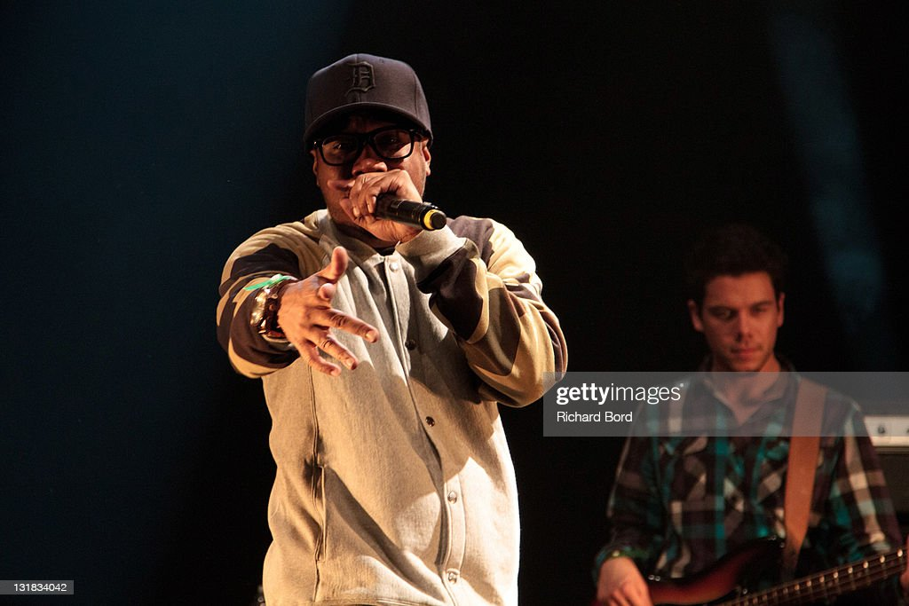 Welcome To Detroit And Rakim Perform For Rue Hip Hop Festival : News Photo