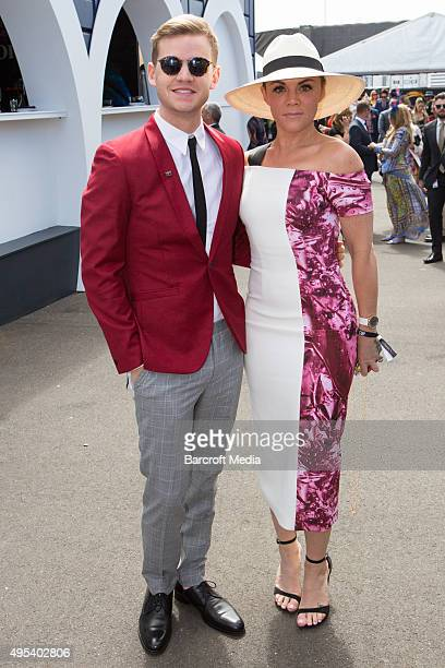 Em Rusciano at the 2015 Melbourne Cup Carnival at Flemington Racecourse on November 3 2015 in Melbourne Australia Chris Putnam / Barcroft Media UK...