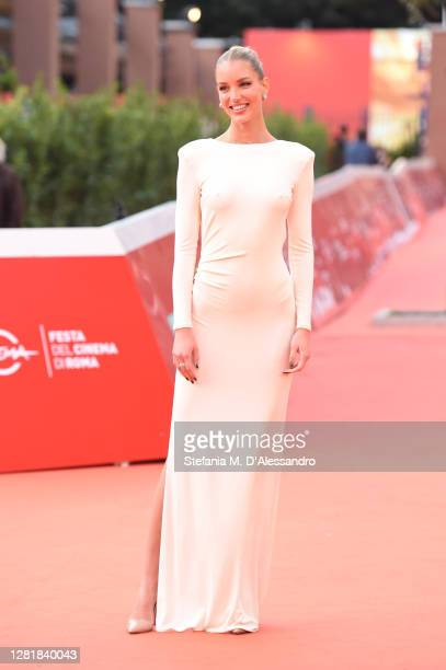 Ema Kovac attends the red carpet of the movie Borat during the 15th Rome Film Festival on October 23 2020 in Rome Italy