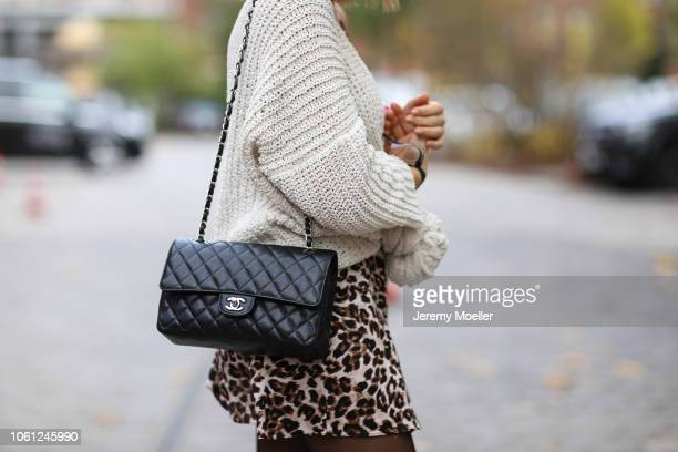 Ema Louise wearing a Chanel bag on October 28 2018 in Berlin Germany