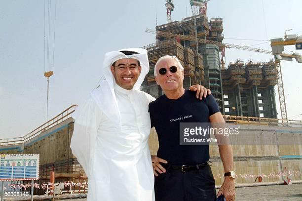 Emaar Properties' iconic Burj Dubai development received its most high profile visitor to date when celebrated Italian fashion designer Giorgio...