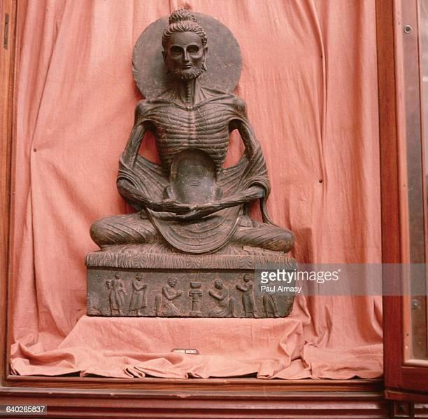 Emaciated Buddha Lahore Museum