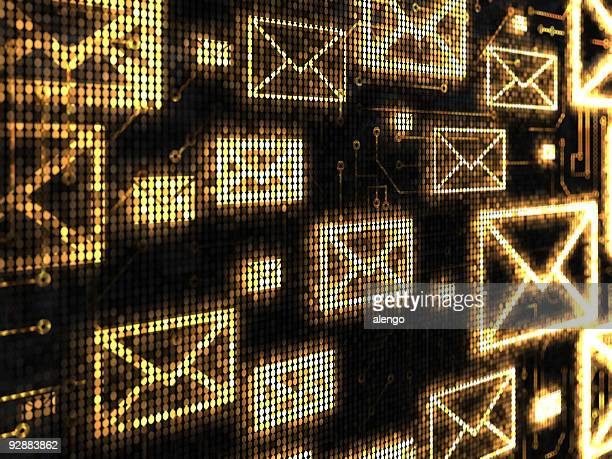 e-mail background - e mail inbox stock pictures, royalty-free photos & images