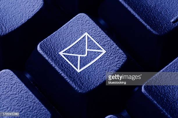 Email Icon on Computer Keyboard