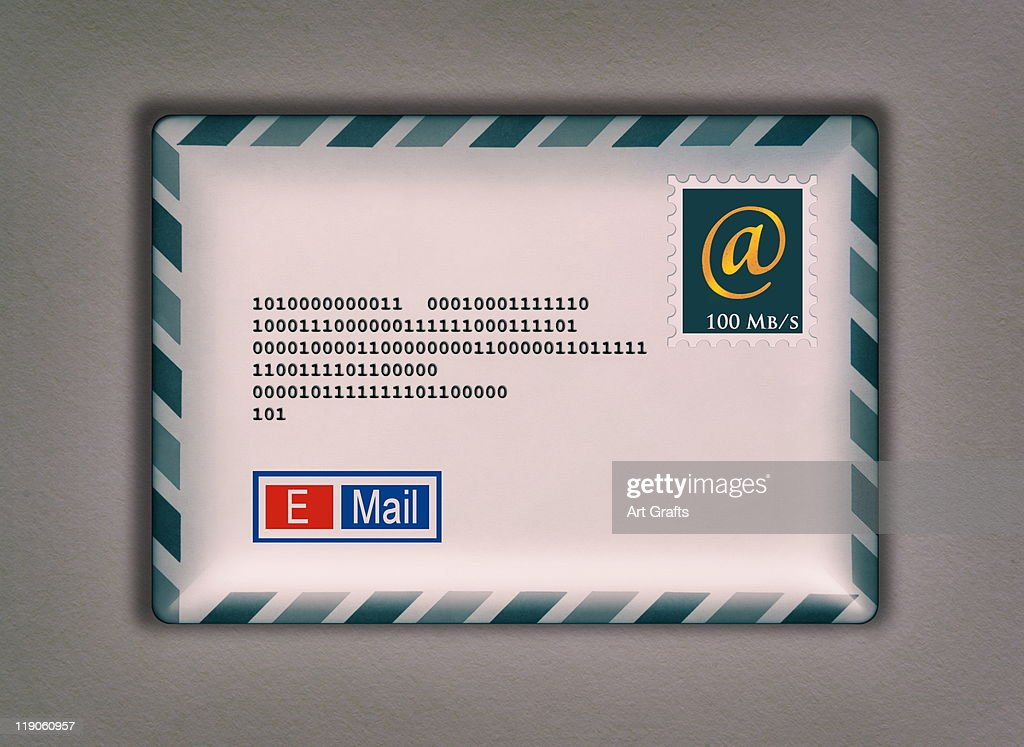 Email Packet Envelope : Stock Photo