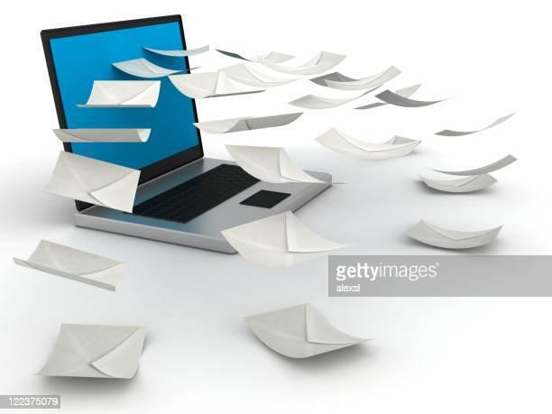 um e-mail - postando - fotografias e filmes do acervo