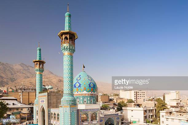 emamzadeh saleh, tajrish, tehran, iran - tehran stock pictures, royalty-free photos & images