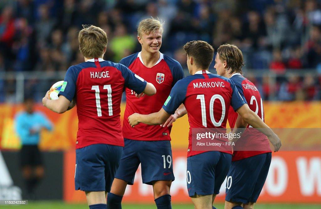 Norway v Honduras: Group C - 2019 FIFA U-20 World Cup : Foto jornalística