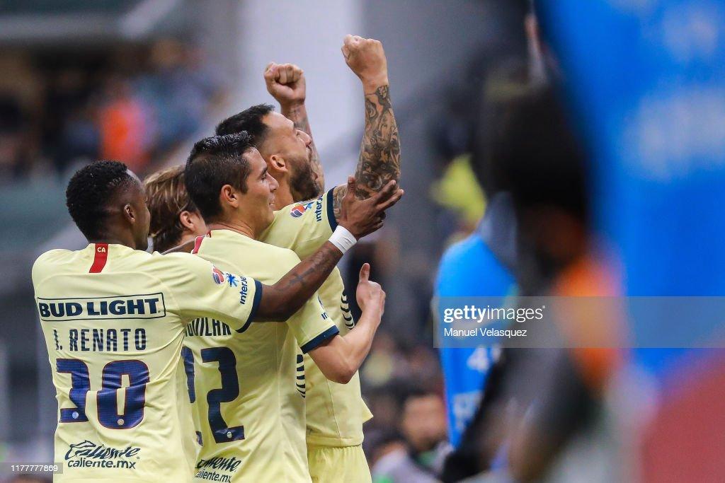 America v Chivas - Torneo Apertura 2019 Liga MX : Fotografía de noticias