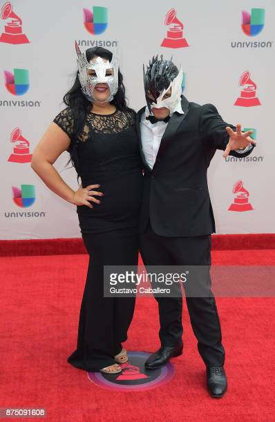 Emanuel Alejandro Rodriguez aka Kalisto and guest attend the 18th Annual Latin Grammy Awards at MGM Grand Garden Arena on November 16 2017 in Las...