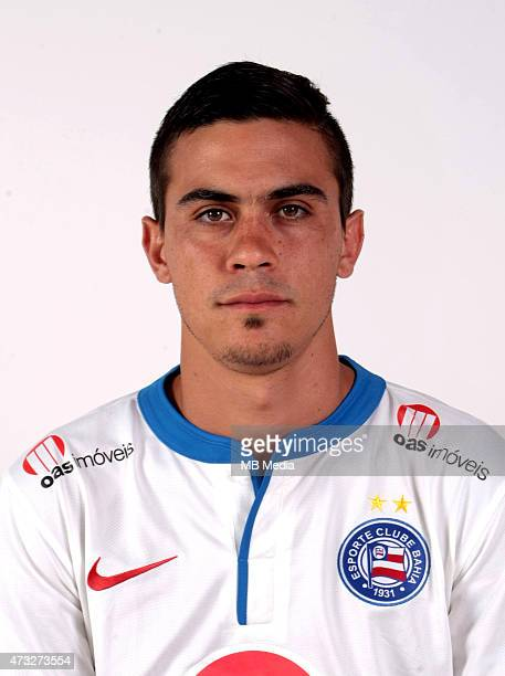 Emanuel Biancucchi of Esporte Clube Bahia poses during a portrait session August 14 2014 in SalvadorBrazil
