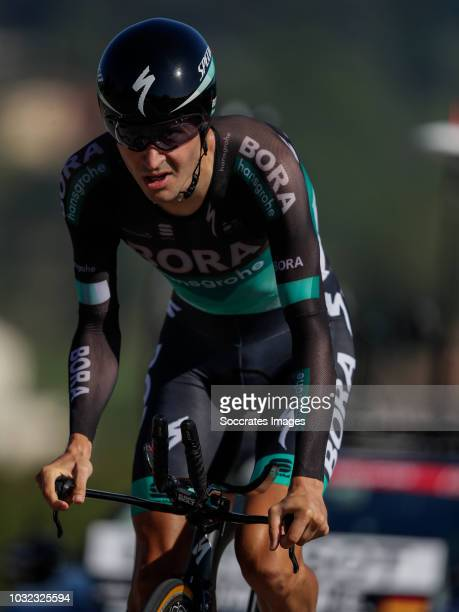 Emanuel Buchmann of Bora Hansgrohe during the Vuelta on September 11 2018