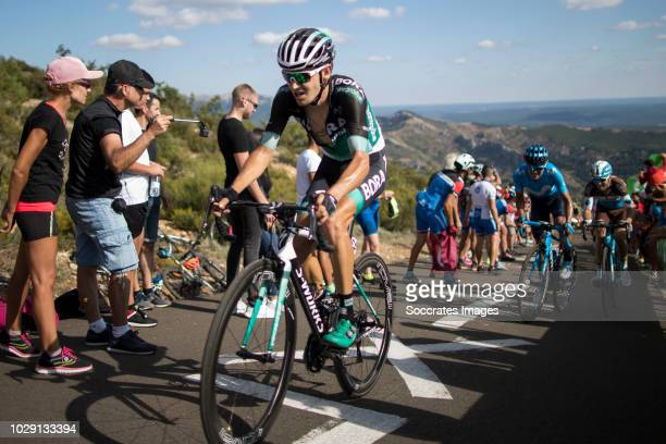 Emanuel Buchmann of Bora Hansgrohe during the Vuelta on September 7 2018