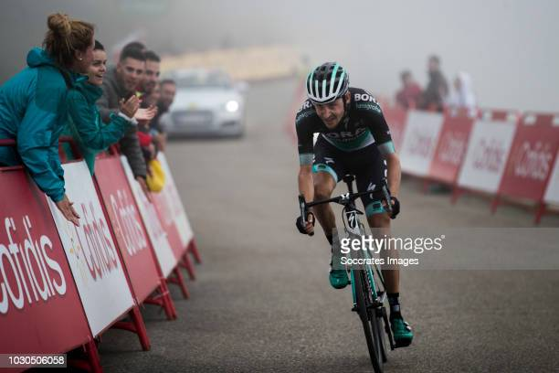 Emanuel Buchmann of Bora Hansgrohe during the Vuelta on September 9 2018