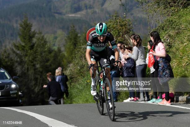 Emanuel Buchmann of Germany and Team Bora Hansgrohe / during the 59th ItzuliaVuelta Ciclista Pais Vasco 2019 Stage 5 a 1498km stage to Arrigorriaga...