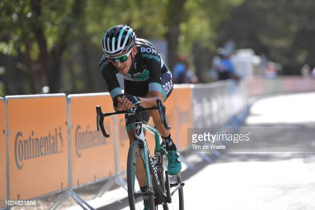 Emanuel Buchmann of Germany and Team Bora Hansgrohe / during the 73rd Tour of Spain 2018 Stage 4 a 1614km stage from VelezMalaga to Alfacar Sierra de...