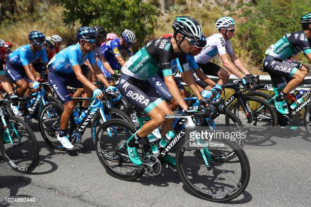 Emanuel Buchmann of Germany and Team Bora Hansgrohe / during the 73rd Tour of Spain 2018 Stage 5 a 1887km stage from Granada to Roquetas de Mar / La...