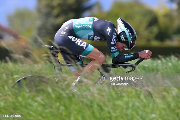 Emanuel Buchmann of Germany and Team BoraHansgrohe / during the 73rd Tour de Romandie 2019 Stage 5 a 169km Individual Time Trial from Genève to...