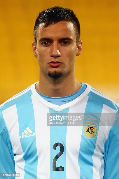Emanuel Mammana of Argentina is seen prior to the FIFA U20 World Cup New Zealand 2015 Group B match between Argentina and Ghana at Wellington...