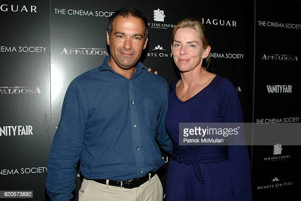 Emanuel Stern and Liz Stern attend THE CINEMA SOCIETYVANITY FAIRhost ascreening of APPALOOSA at Tribeca Grand Hotel on September 9 2008 in New...