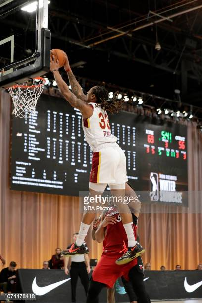 Emanuel Terry of the Canton Charge dunks the ball against the Sioux Falls Skyforce during the NBA G League Winter Showcase on December 20 2018 at...