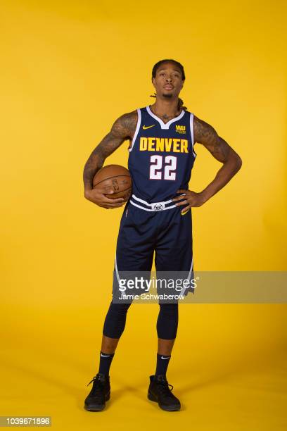Emanuel Terry of the Denver Nuggets poses for a portrait during the Denver Nuggets Media Day at the Pepsi Center on September 24 2018 in Denver...