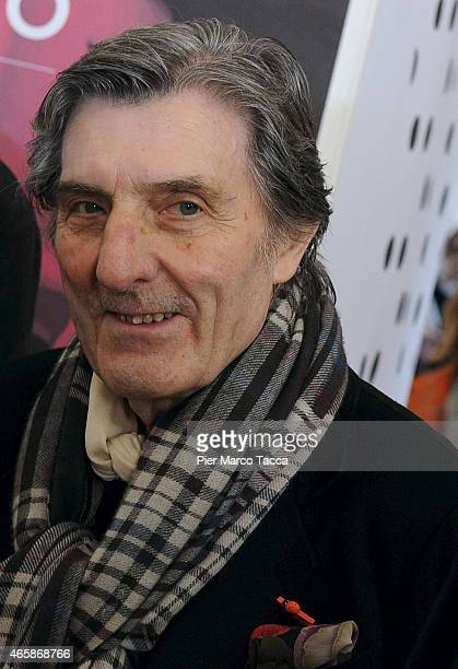 Emanuel Ungaro attends the Exhibition Press Conference 'Omaggio a EmanuelUngaro' on March 11 2015 in Milan Italy