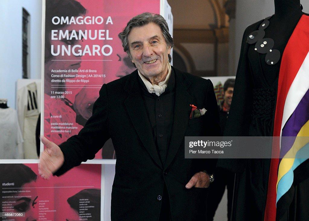 'Omaggio A Emanuel Ungaro' Exhibition Press Conference : Nachrichtenfoto