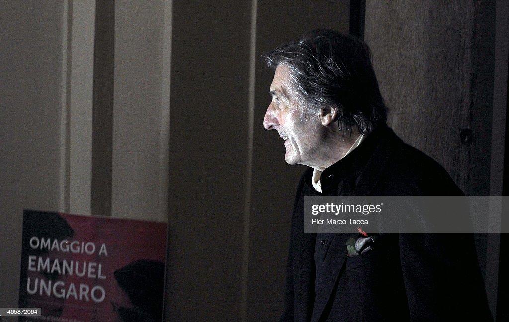'Omaggio A Emanuel Ungaro' Exhibition Press Conference : News Photo