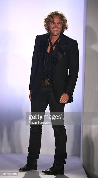 Emanuel Ungaro Creative Director Peter Dundas on the runway at the Neiman Marcus Beverly Hills hosts a preview fashion show of the Spring/Summer 2007...