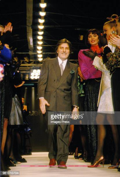 Emanuel Ungaro during Paris Fashion Week 1992 in Paris