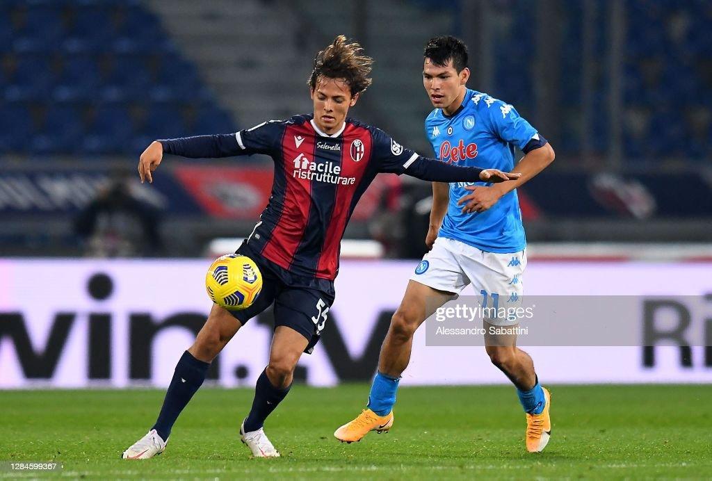 Bologna FC v SSC Napoli - Serie A : Nachrichtenfoto