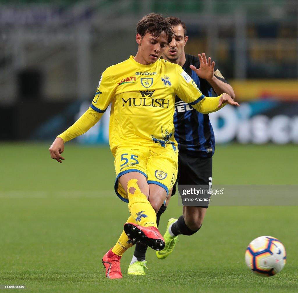 FC Internazionale v Chievo - Serie A : ニュース写真