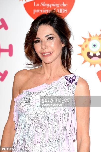 Emanuela Folliero attends Convivio photocall on June 5 2018 in Milan Italy