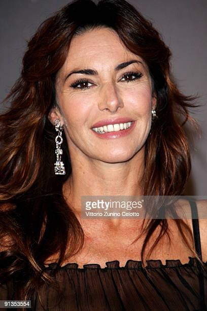 Emanuela Folliero attends La Bella E La Bestia Red Carpet held at Teatro Nazionale on October 2 2009 in Milan Italy