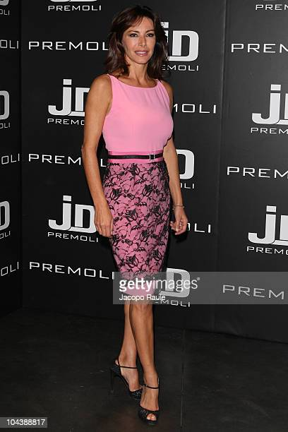 Emanuela Folliero attends Premoli Milan Fashion Week Womenswear Spring/Summer 2011 show on September 23 2010 in Milan Italy