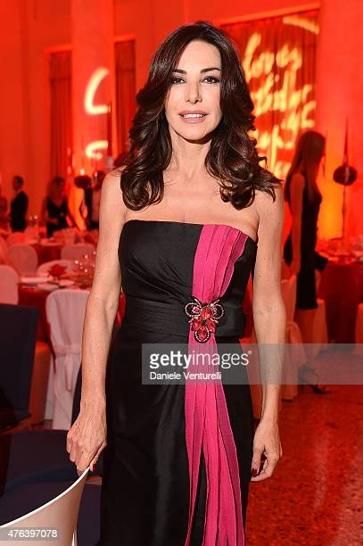 Emanuela Folliero attends Prince Albert II Of Monaco Foundation Gala Dinner on June 8 2015 in Milan Italy