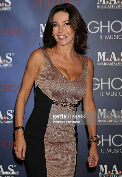 Emanuela Folliero attends the opening night of Ghost The Musical at the Teatro Nazionale on October 10 2013 in Milan Italy