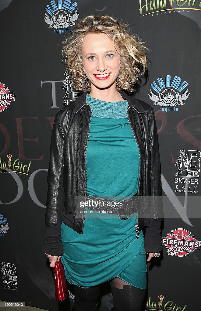 Emanuela Galliussi attends 'The Devil's Dozen' Special Screening on February 1, 2013 in Los Angeles, California.