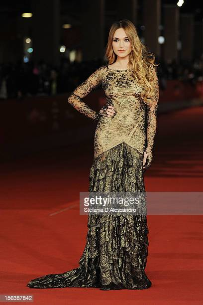 Emanuela Postacchini attends 'Bullet To The Head' Premiere at Auditorium Parco Della Musica on November 14 2012 in Rome Italy