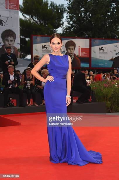Emanuela Postacchini attends 'Good Kill' Premiere during the 71st Venice Film Festival at Sala Grande on September 5 2014 in Venice Italy