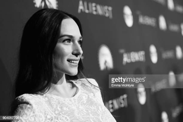 Emanuela Postacchini attends The Alienist LA Premiere Event at Paramount Studios on January 11 2018 in Hollywood California 26144_017