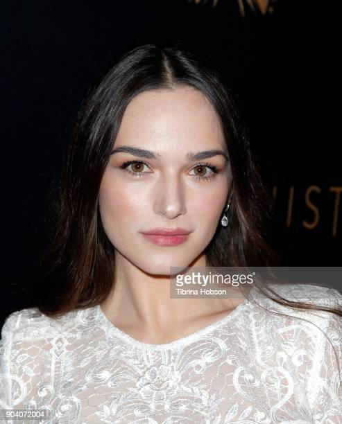 Emanuela Postacchini attends the premiere of TNT's 'The Alienist' on January 11 2018 in Los Angeles California