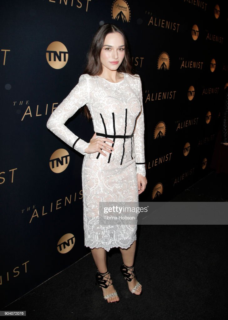 "Premiere Of TNT's ""The Alienist"" - Red Carpet"