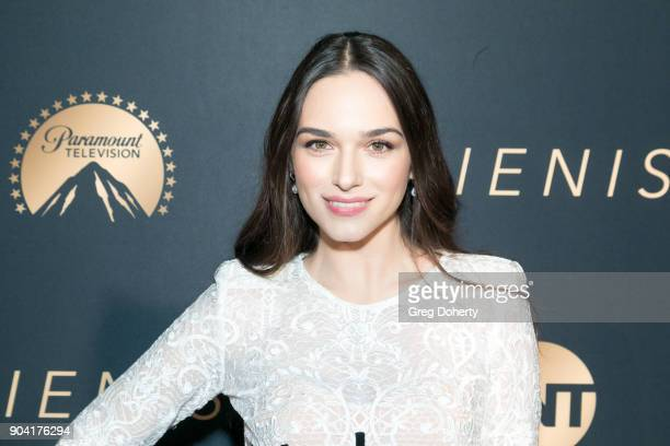 Emanuela Postacchini attends the Premiere Of TNT's The Alienist on January 11 2018 in Hollywood California
